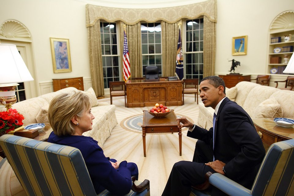 Obama and Hillz
