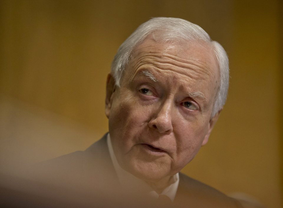 Republican Sen. Orrin Hatch