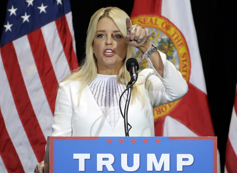 Florida Attorney General Pam Bondi joins the Trump administration