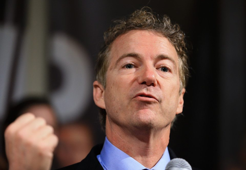 GOP Sen. Rand Paul