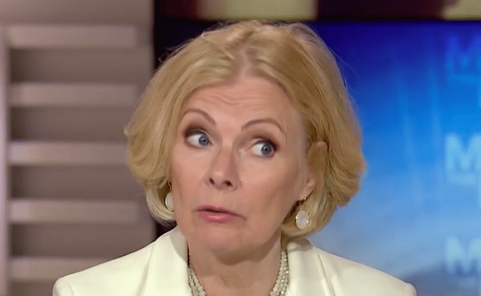 Peggy Noonan is no Rachel Maddow.