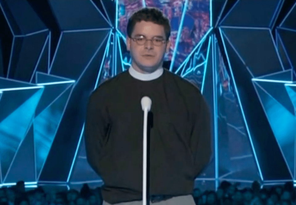 Reverend Robert Lee IV speaks out against racism at the MTV Video Music Awards