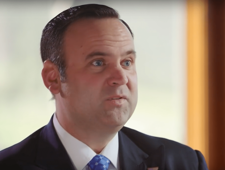 Trump's social media director, Dan Scavino, got caught making a little fake news.