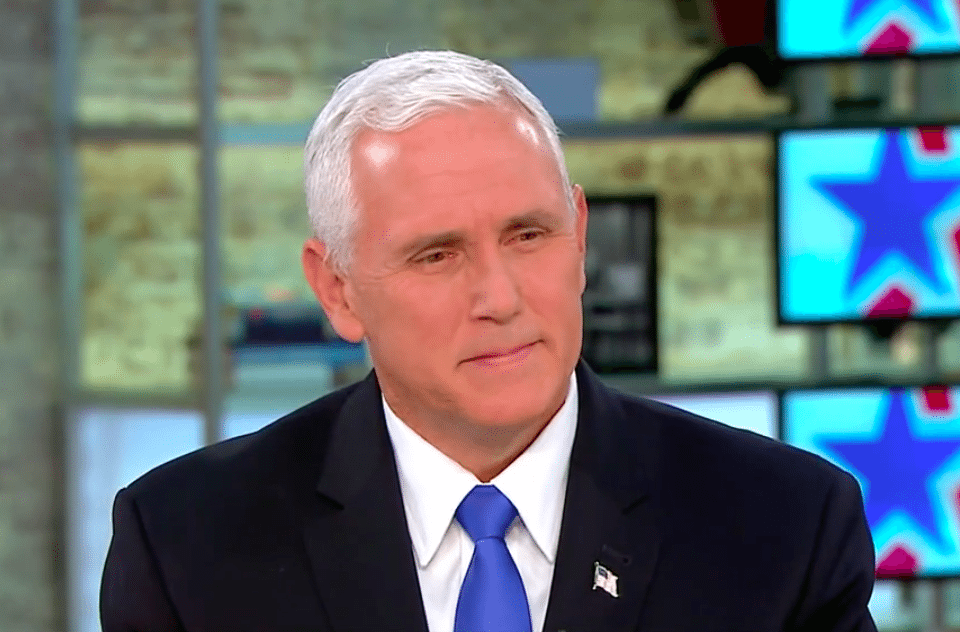 Pence doth protest too much — and he knows it