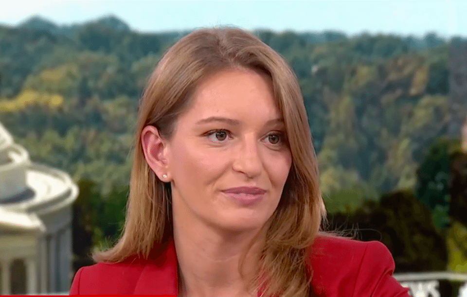 NBC News correspondent Katy Tur knows who Trump really is, and it's not a