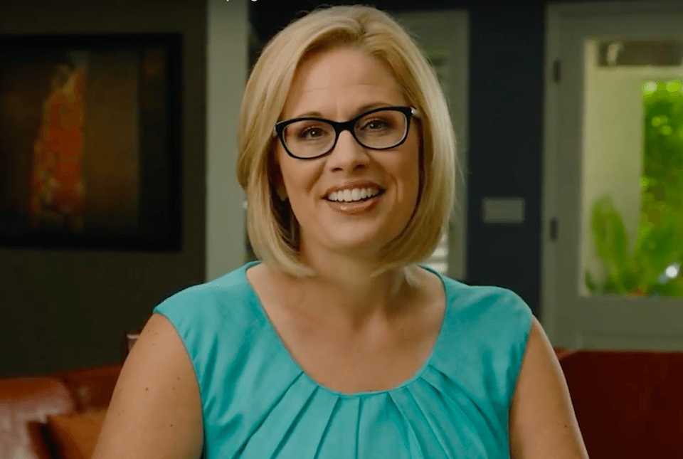 Arizona Democratic Rep. Kyrsten Sinema is ready to take on GOP Sen. Jeff Flake