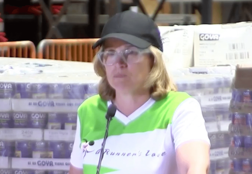 San Juan, Puerto Rico, mayor Carmen Yulin Cruz pleads with Donald Trump to help Americans dying from disaster and the White House's neglect.