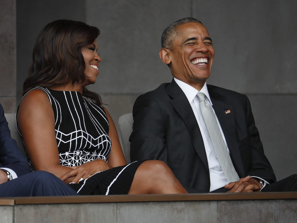 President Barack Obama and first lady Michelle Obama — remember when we had a first family that you wanted to be a part of?