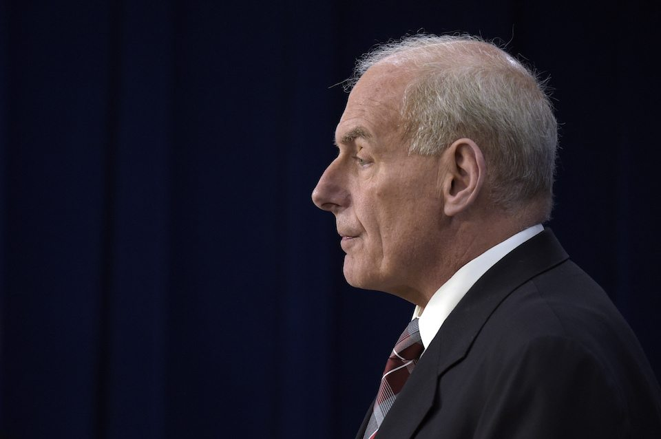 Chief of staff General John Kelly Profile