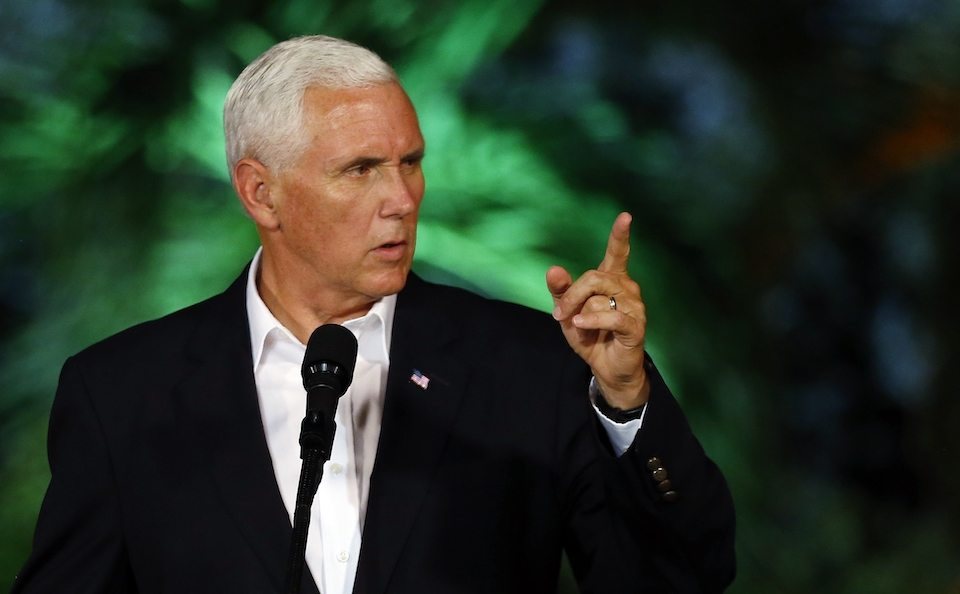 Mike Pence really, really, really wants to make the rich even richer.