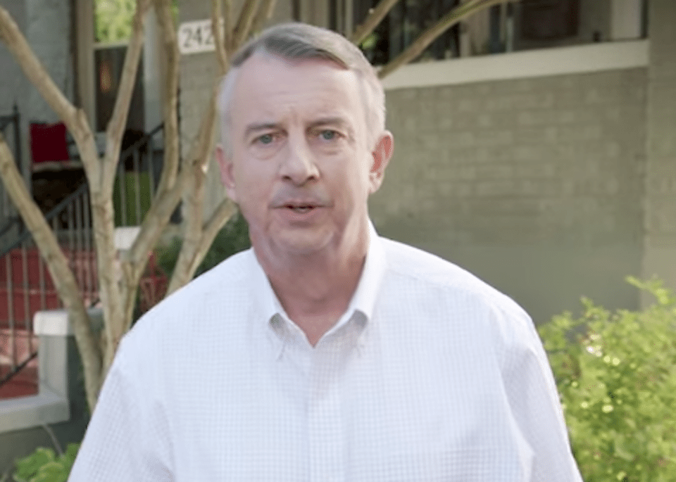 Republican nominee Ed Gillespie