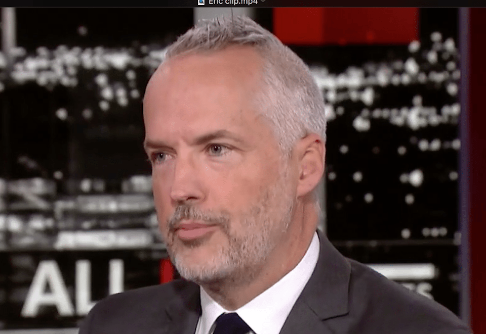 Shareblue Media senior writer Eric Boehlert