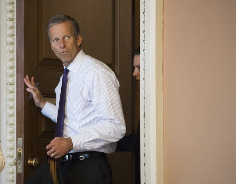 Republican Sen. John Thune, a great friend to the NRA