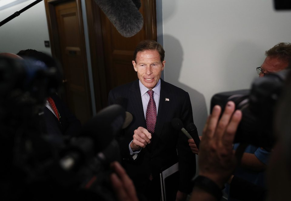 Connecticut Sen. Richard Blumenthal