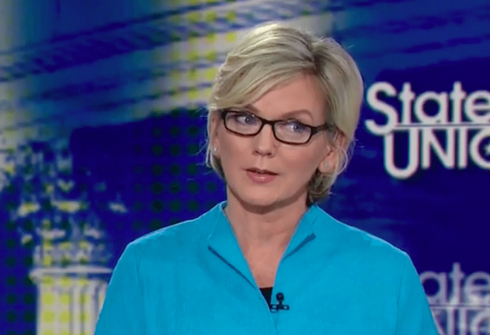 Former Michigan Gov. Jennifer Granholm is not impressed