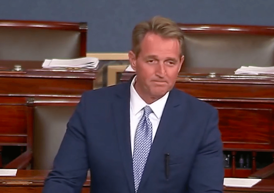 Arizona Republican Sen. Jeff Flake