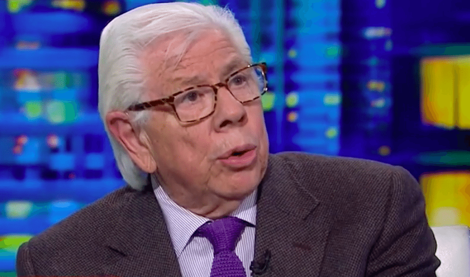 Investigative journalist Carl Bernstein