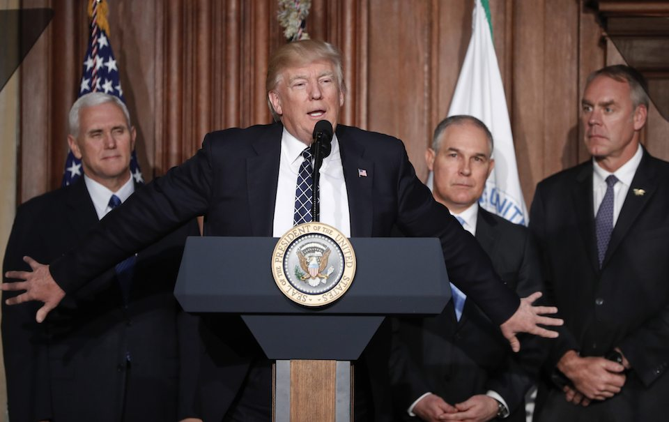 ,Donald Trump,Scott Pruitt,Mike Pence,Rick Perry,Ryan Zinke