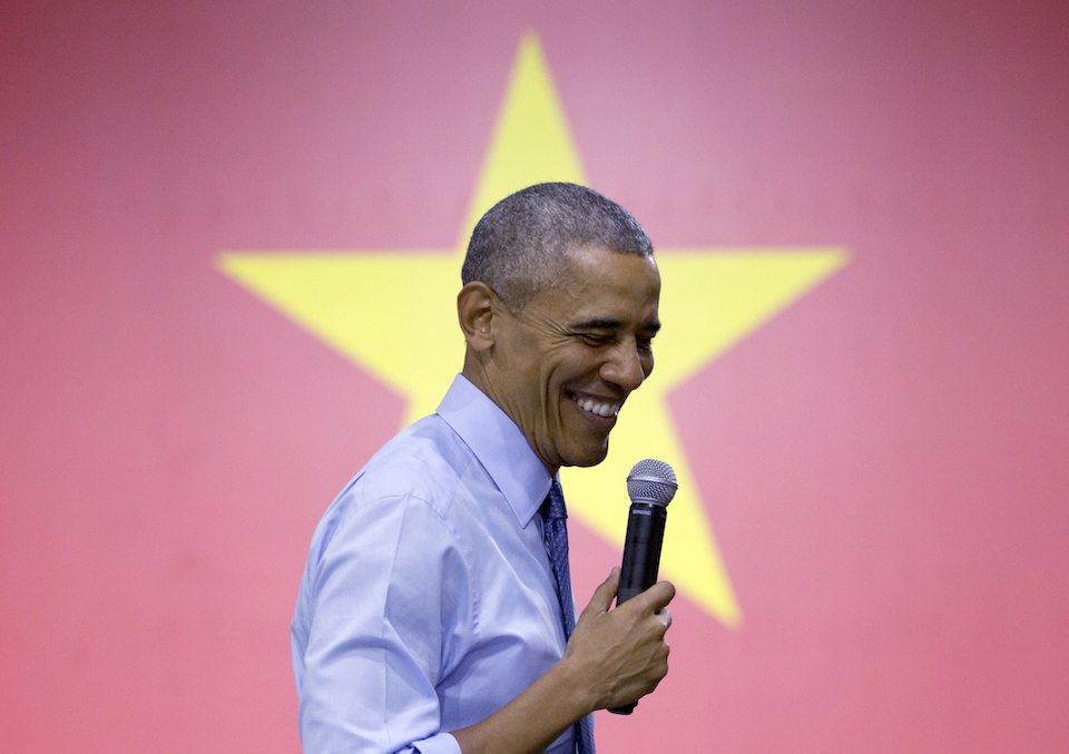 President Barack Obama in Vietnam