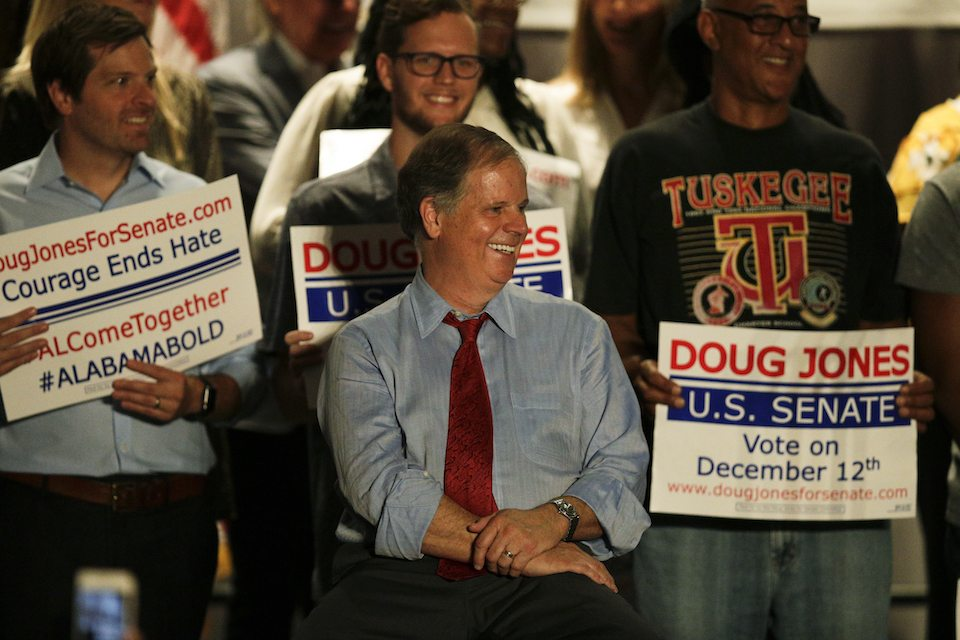 'Stand up for decency. Reject Roy Moore': All 3 major Alabama newspapers endorse Doug Jones