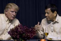 Donald Trump with Philippines dictator Rodrigo Duterte