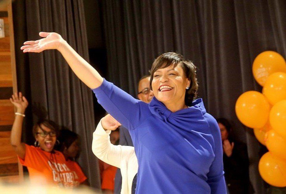 LaToya Cantrell, New Orleans first woman mayor
