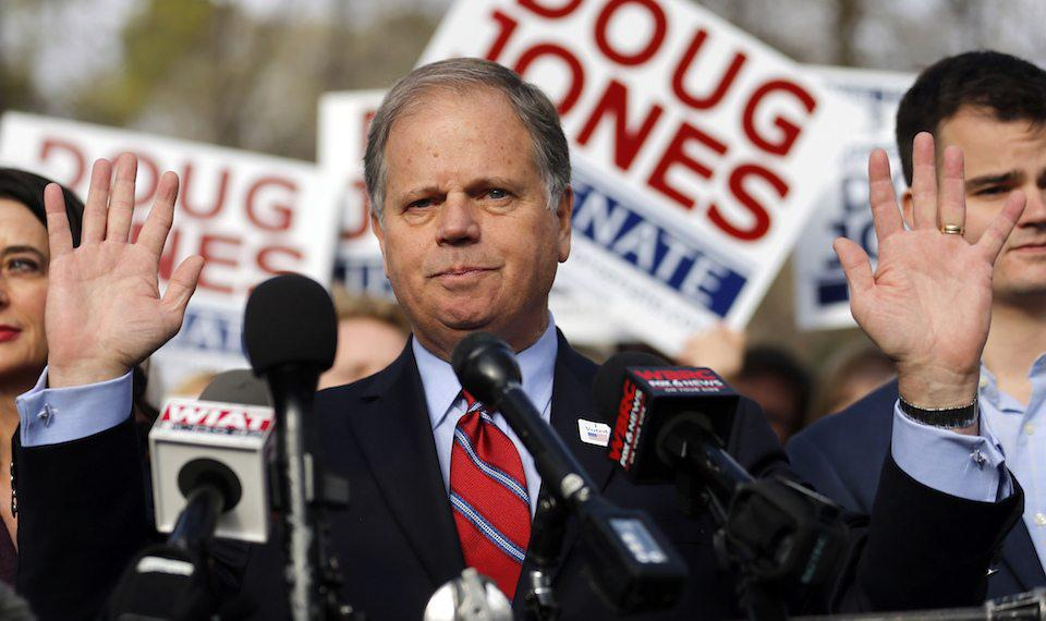 Democrat Doug Jones
