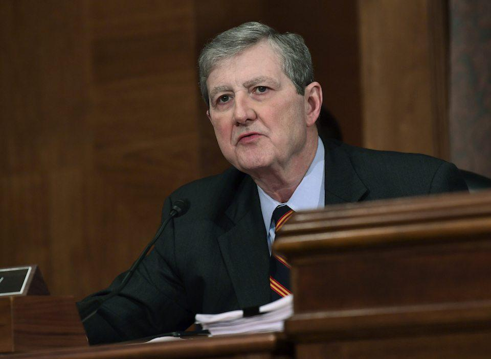 Republican Sen. John Kennedy