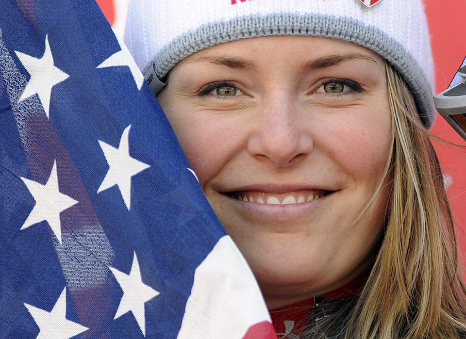 Lindsey Vonn, completing at the alpine ski World Cup finals