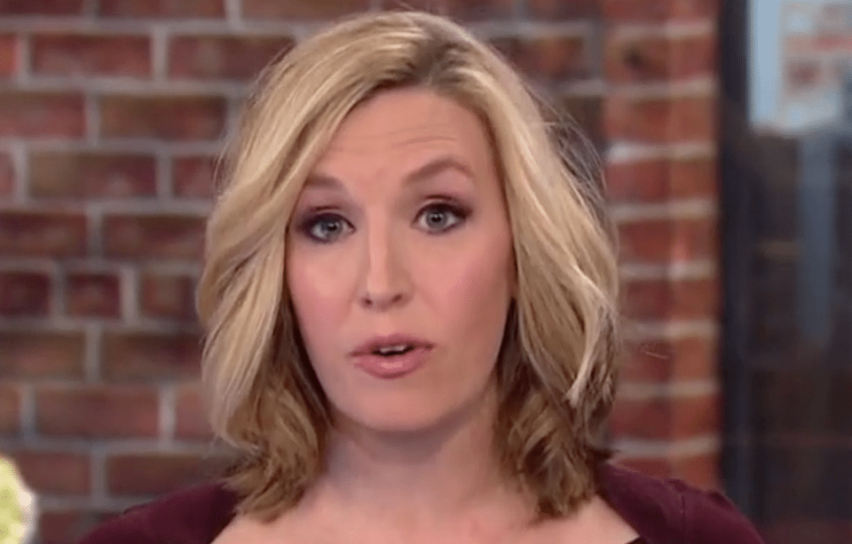 CNN anchor Poppy Harlow