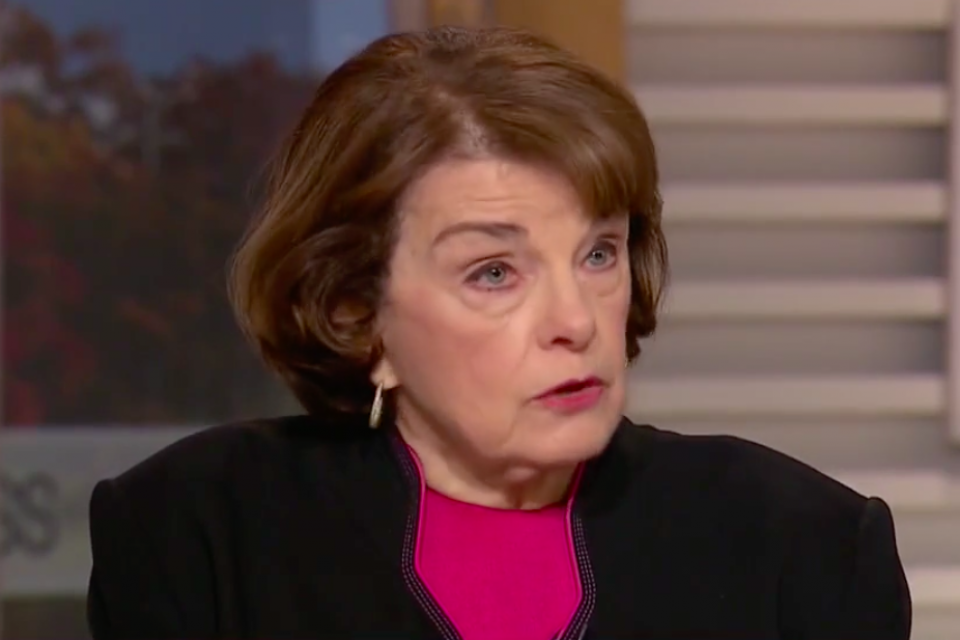 "Sen. Feinstein: ""If the president can't control himself … he shouldn't be the president"""
