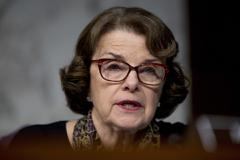 California Democratic Sen. Dianne Feinstein