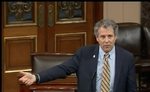 Sherrod Brown talks CHIP on Senate floor