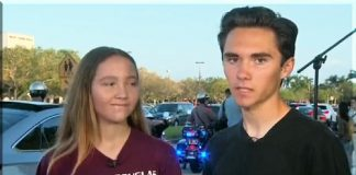 Parkland shooting survivor David Hogg 02-28-2018