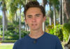 David Hogg, survivor of the mass shooting at a high school in Parkland, Florida