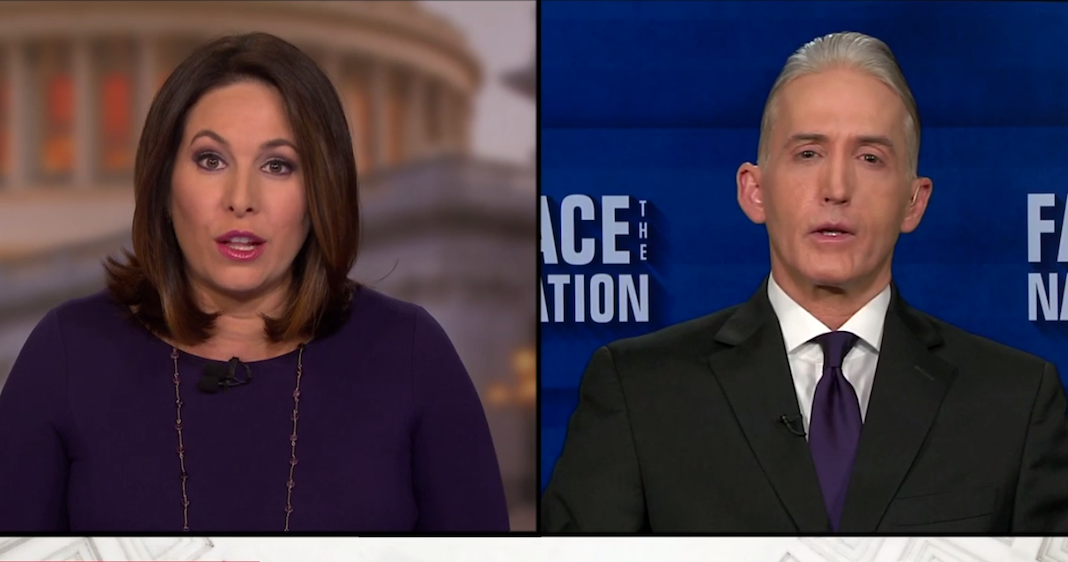 CBS anchor Nancy Cordes and South Carolina GOP Rep. Trey Gowdy
