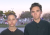 Parkland students Emma Gonzalez and David Hogg on