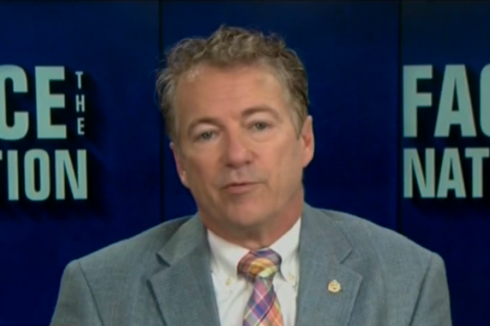 "Rand Paul embarrasses himself by calling wife beating ""complicated"""