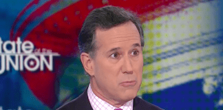 Former Pennsylvania Republican Sen. Rick Santorum