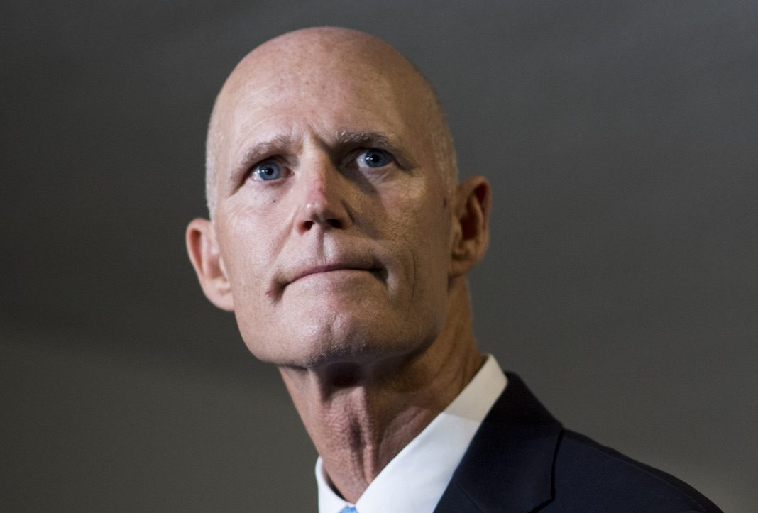 Florida Republican Gov. Rick Scott