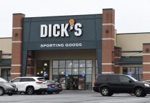 Dick's Sporting Goods store in Arlington, Virginia