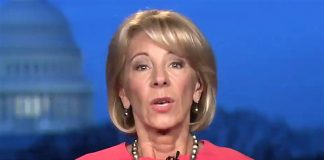 Secretary of Education Betsy DeVos 03-12-2018