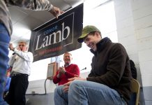 Pennsylvania's new congressman-elect Conor Lamb