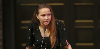 Lauren Hogg, a student survivor from Marjory Stoneman Douglas High School in Parkland, FL, slammed the NRA for its Oscars ad campaign