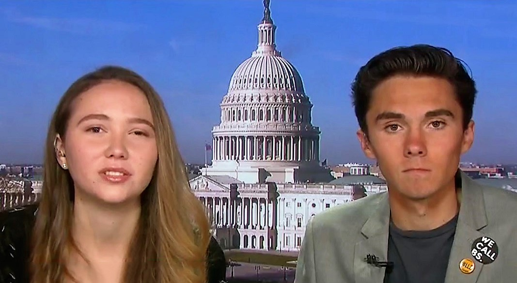 Lauren Hogg and David Hogg 03-26-2018