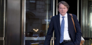 White House counsel Donald McGahn