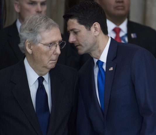 Mitch McConnell and Paul Ryan