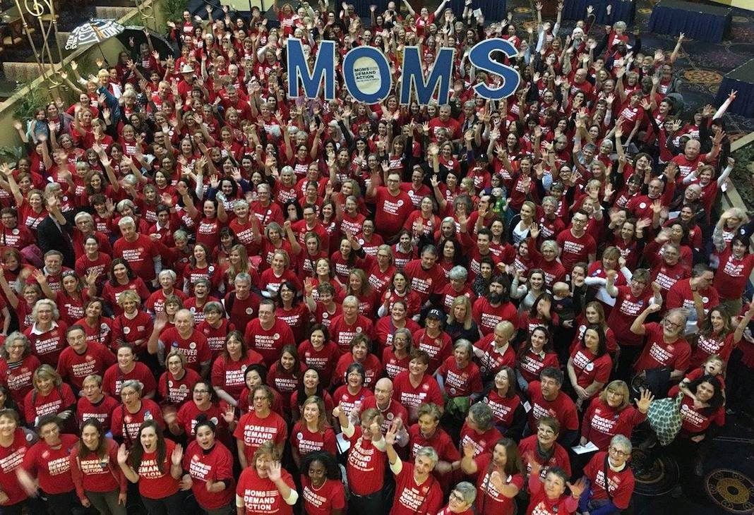 Moms Demand Action Crowd