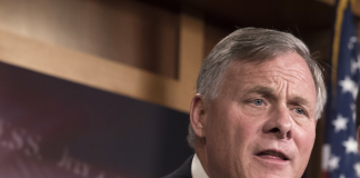 GOP Senate intel chair Richard Burr