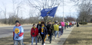 Students march to Paul Ryan's hometown to demand action on guns